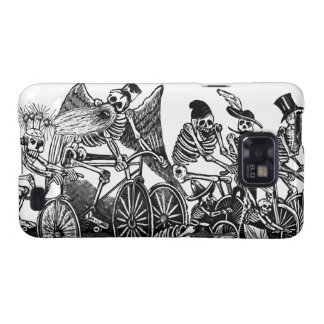 Skeletons on Bicycles Samsung Galaxy SII Covers