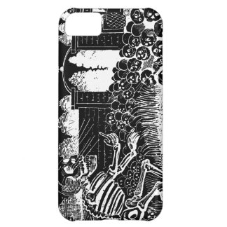 Skeletons on Bicycles iPhone 5C Cases