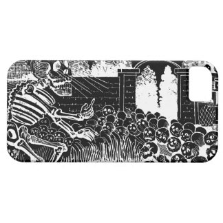 Skeletons on Bicycles iPhone 5 Cover