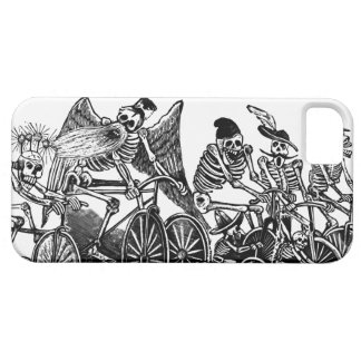 Skeletons on Bicycles iPhone 5 Covers