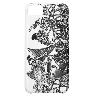 Skeletons on Bicycles iPhone 5C Covers
