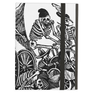 Skeletons on Bicycles Case For iPad Air