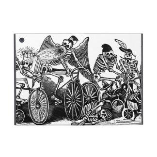 Skeletons on Bicycles iPad Mini Case