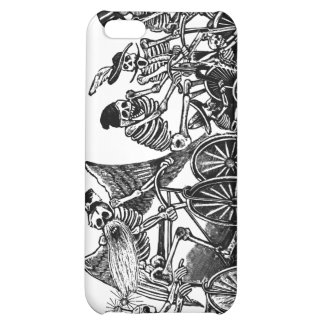 Skeletons on Bicycles Cover For iPhone 5C