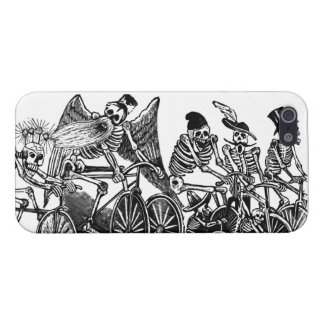 Skeletons on Bicycles iPhone 5 Cases