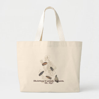 Skeletons, Points, & Sherds, Oh My! Large Tote Bag