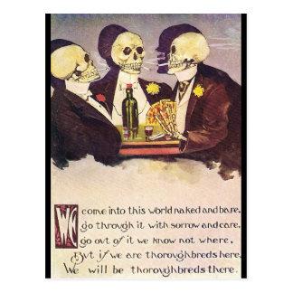 Skeletons Post Cards