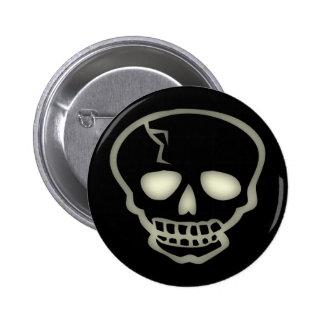 Skeleton's Skull Buttons