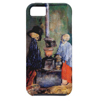 Skeletons Warming Themselves iPhone 5 Cases