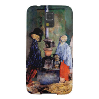 Skeletons Warming Themselves Galaxy S5 Case