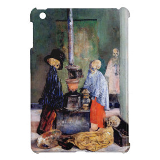 Skeletons Warming Themselves iPad Mini Cover