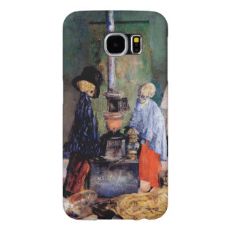 Skeletons Warming Themselves Samsung Galaxy S6 Case