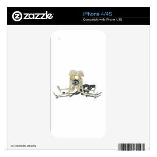 SkeletonsChokedByEngagementRing070515 iPhone 4 Decal