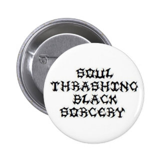 Skeletonwitch - Soul Thrashing Black Sorcery 2 Inch Round Button