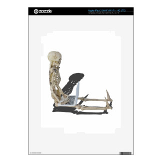 SkeletonWithLaptop032215 Decals For iPad 3