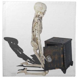 SkeletonWithSafe032215 Napkin