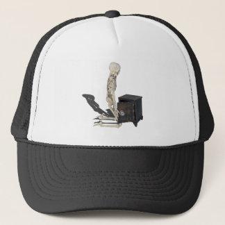 SkeletonWithSafe032215 Trucker Hat
