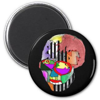 Skeletor 2 Inch Round Magnet