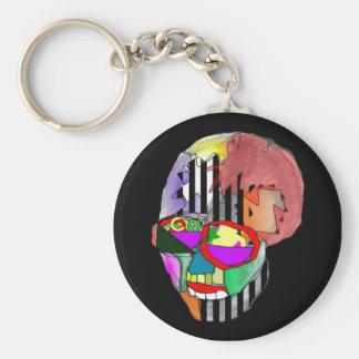Skeletor Basic Round Button Keychain