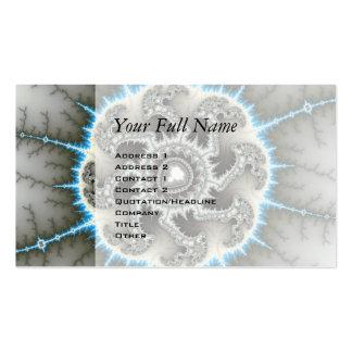 Skelewheel - arte del fractal tarjetas de visita