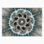 Skelewheel - Fractal Art Card