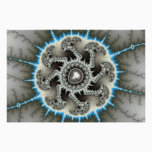 Skelewheel - Fractal Art Poster