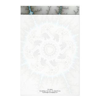 Skelewheel - Fractal Art Stationery
