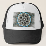 Skelewheel - Fractal Art Trucker Hat