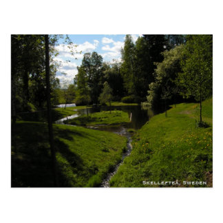 Skelleftea, Sweden Postcard