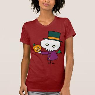 Skellie with Pumpkin T-Shirt