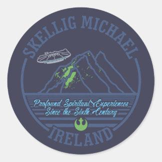 Skellig Michael, Ireland V2 Sticker
