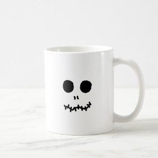 Skellinigtonesk Halloween Face Hallow Eyes Mugs