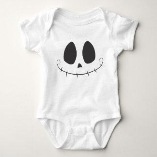 Skelly Face Baby Bodysuit