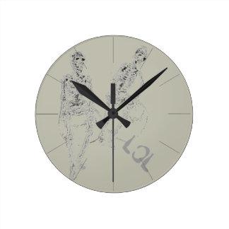 Skeltie Skeletons LOL Comic Fun Clock Funny Gifts