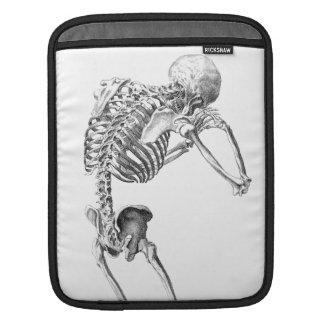 Skelton contemplativo funda para iPads