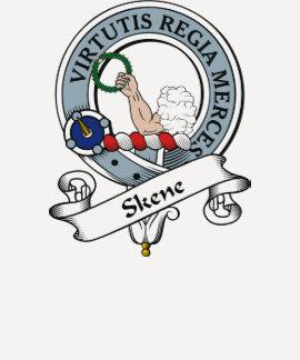 Skene Clan Badge T Shirt