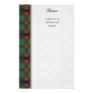 Skene clan Plaid Scottish tartan Flyer