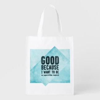 Skeptic bag reusable grocery bags