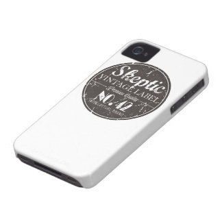 Skeptic Brand Gear iPhone 4 Case-Mate Cases