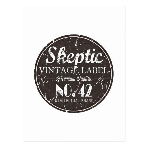Skeptic Brand Gear Postcard