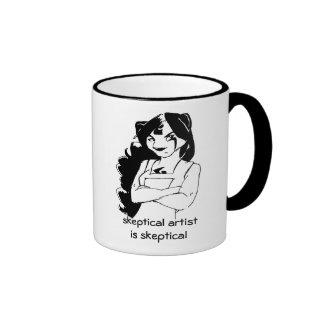 Skeptical Artist is Skeptical Coffee Mug