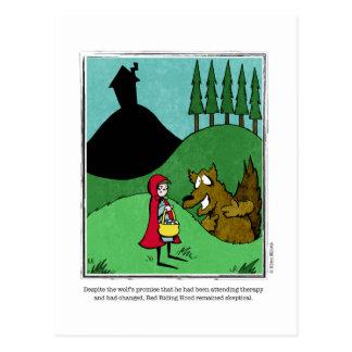 SKEPTICAL cartoon by Ellen Elliott Postcard