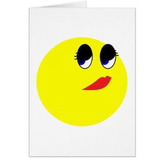 Skeptical Face Card