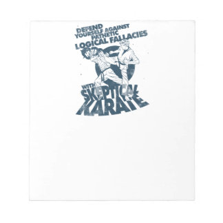 Skeptical Karate Notepad