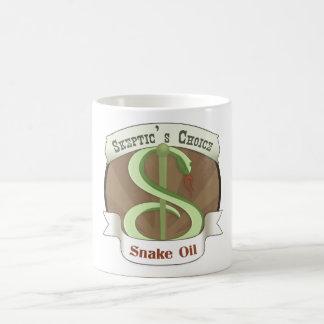 Skeptic's Choice Snake Oil Classic White Coffee Mug
