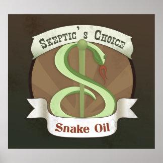 Skeptic's Choice Snake Oil Print