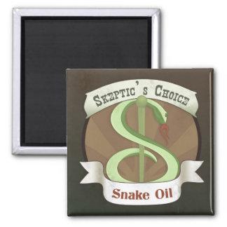 Skeptic's Choice Snake Oil Refrigerator Magnets