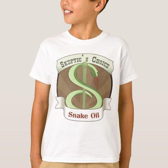 Skeptic's Choice Snake Oil T-Shirt