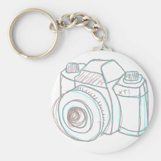sketch camera keychain