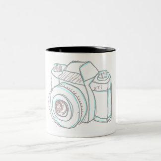 sketch camera mug